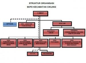 STRUKTUR ORGANISASI KEC-CIKIJING