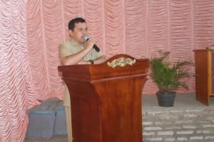 Sambutan dalam rangka Acara Monev PKK Kec. Cikijing