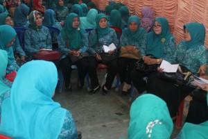 Salah Satu Sesi Acara Monev PKK Kec. Cikijjing
